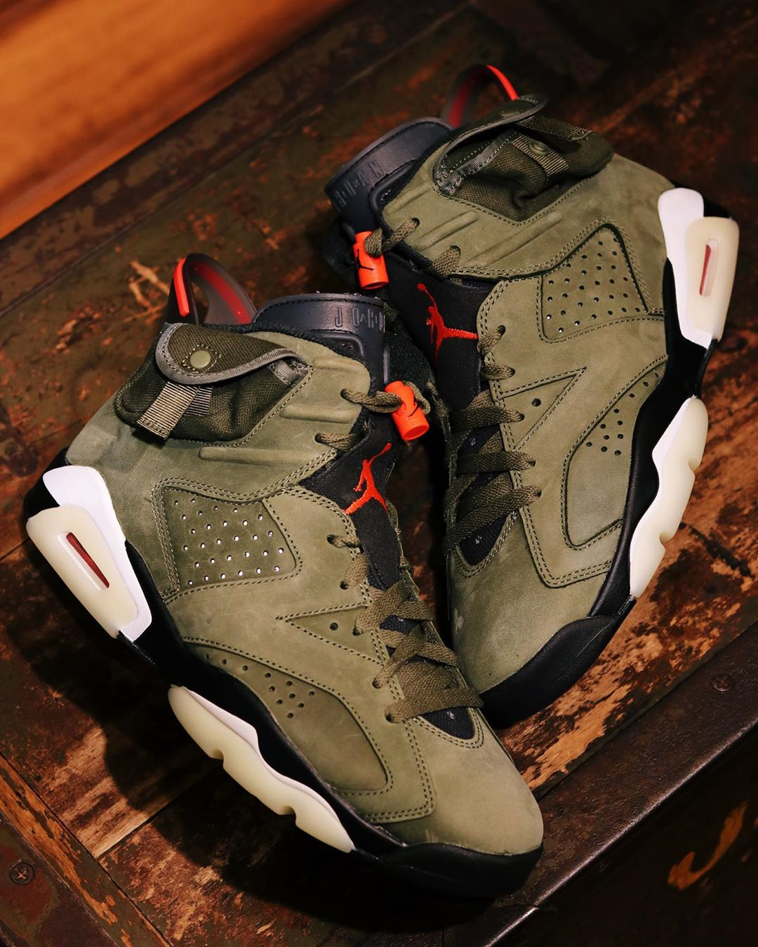 Your Best Look Yet at Travis Scott's Upcoming Air Jordan 6 Collaboration 👀