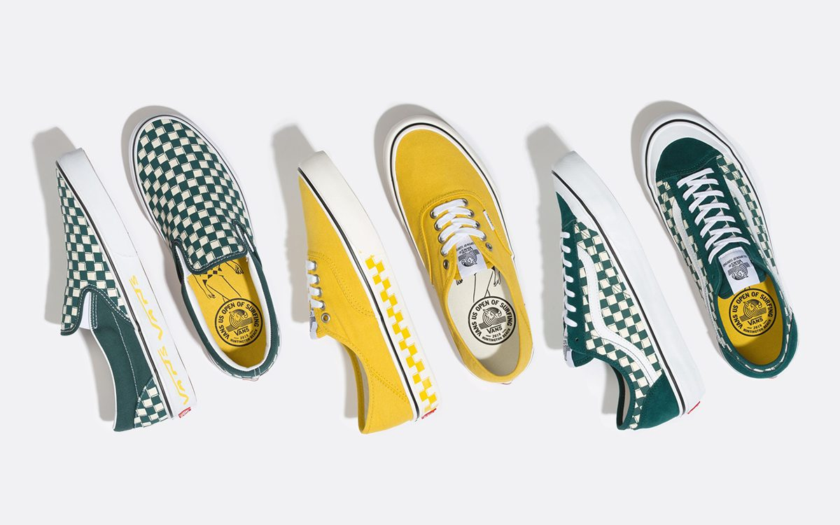 Available Now // Vans US Open of Surfing Pack