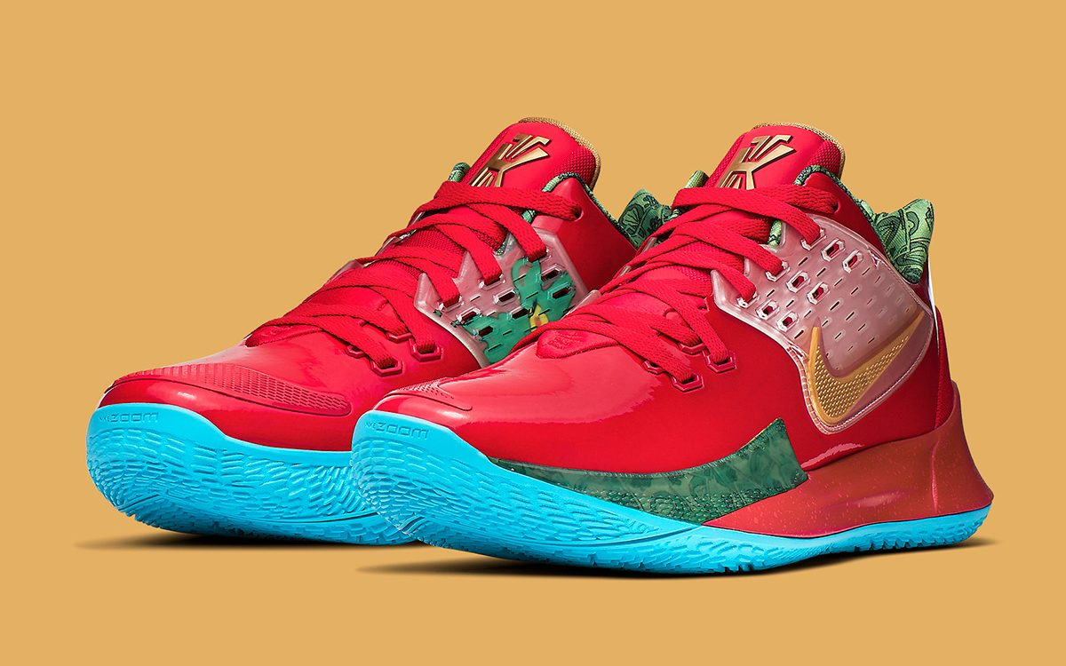 "Where to Buy SpongeBob x Nike Kyrie Low 2 ""Mr. Krabs"""