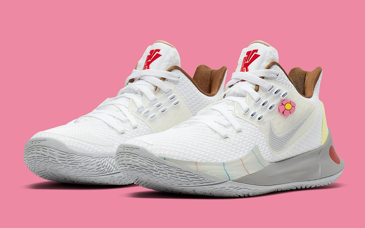 "Where to Buy the SpongeBob x Nike Kyrie Low 2 ""Sandy Cheeks"""