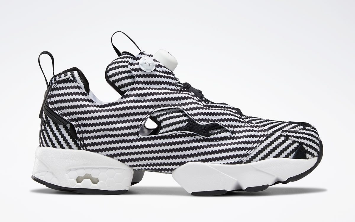The Reebok Instapump Fury Gets Fitted In Faux Carbon Fiber