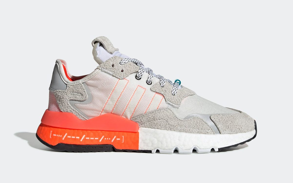 "adidas Nite Jogger ""Morse Code"" Introduced New Midsole Color Blocking"