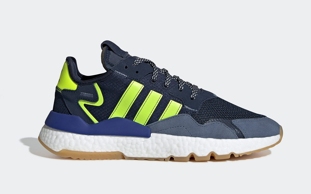 "Available Now // adidas Nite Jogger ""Seahawks"""