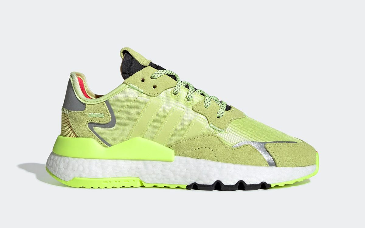 """adidas Nite Jogger Slips On """"Semi Frozen Yellow"""" to Close Out Summer"""