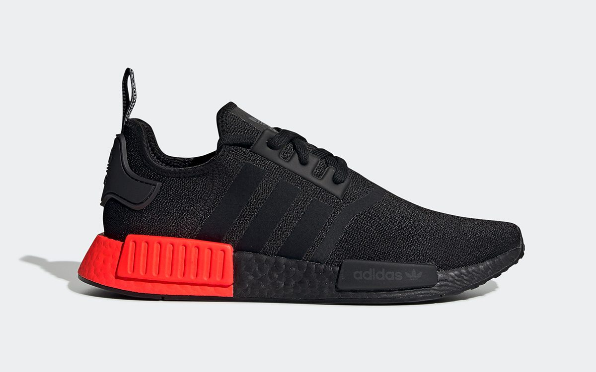 Available Now // adidas NMD R1 Rocks Red-Blocked Heels