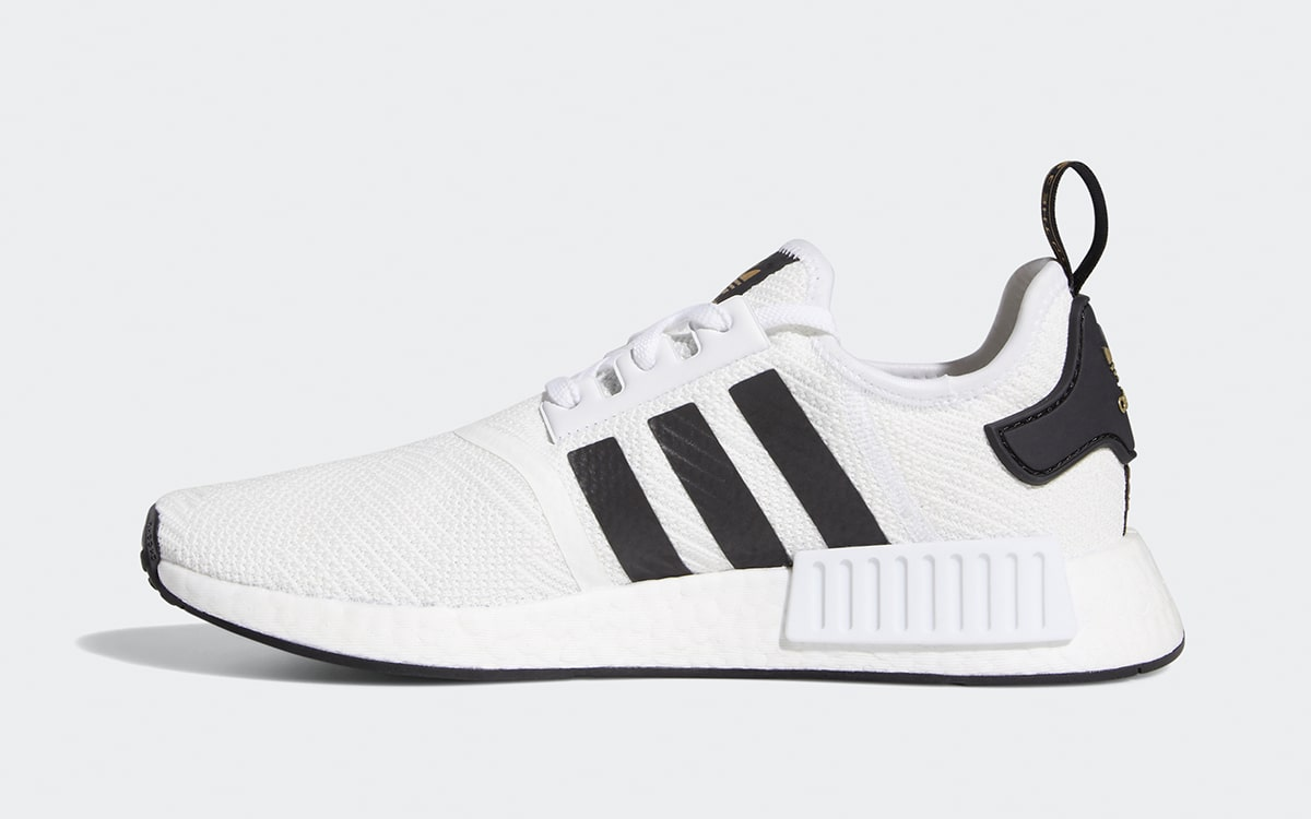 Available Now Metallic Gold adidas NMD R1 HOUSE OF HEAT