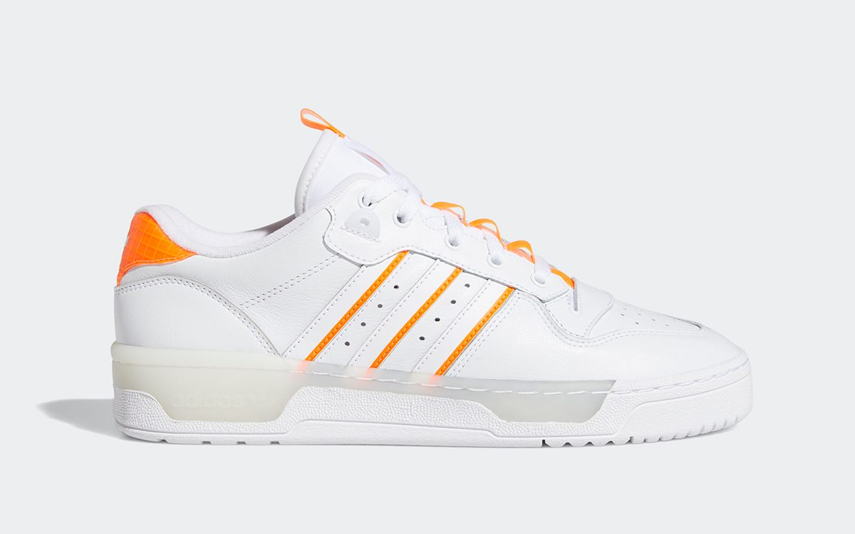 "adidas Rivalry Low Arrives in ""Solar Orange"" this September"