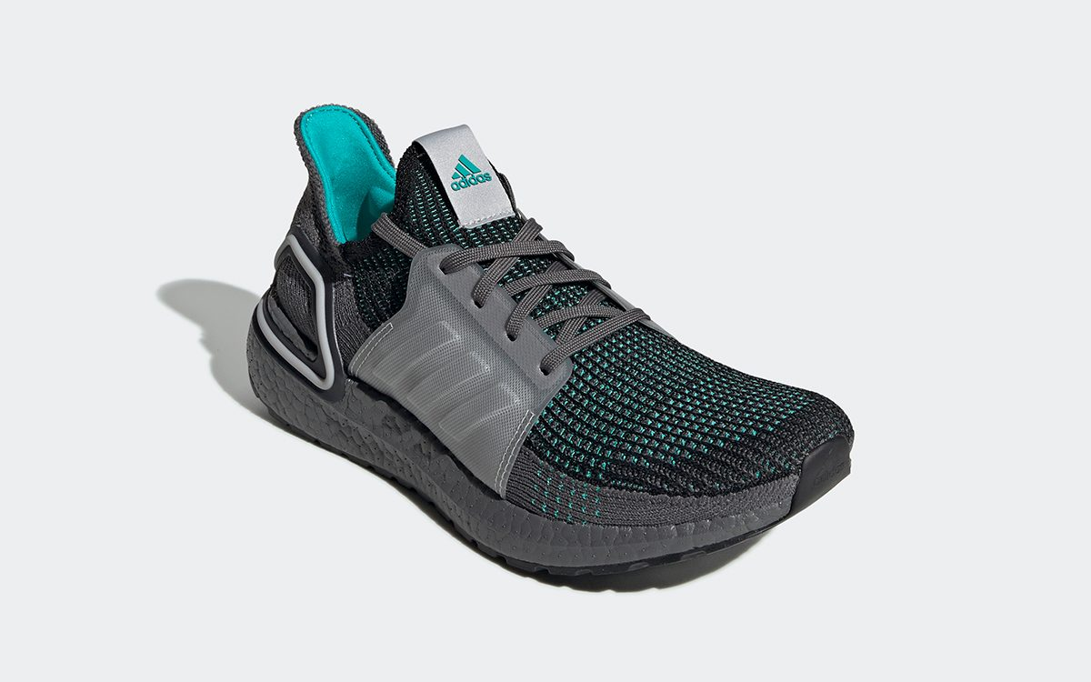 The adidas Ultra BOOST '19 Takes on a Teal and Grey Colorway for Fall