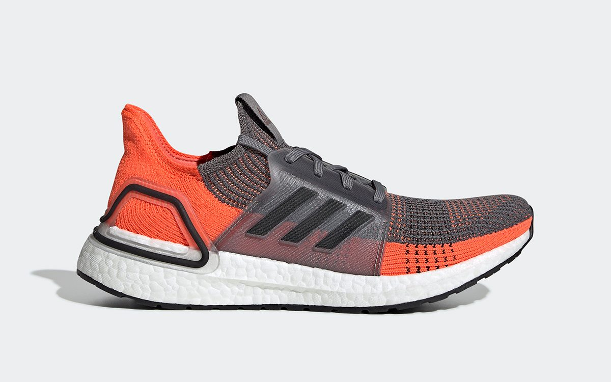 "adidas Ultra BOOST 19 ""Hi-Red Coral"" Arrives This Weekend"