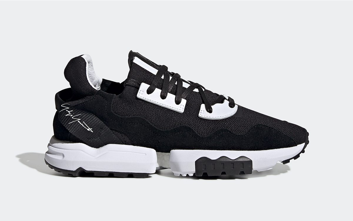 Available Now // adidas Y-3 ZX Torsion in Classic Black and White