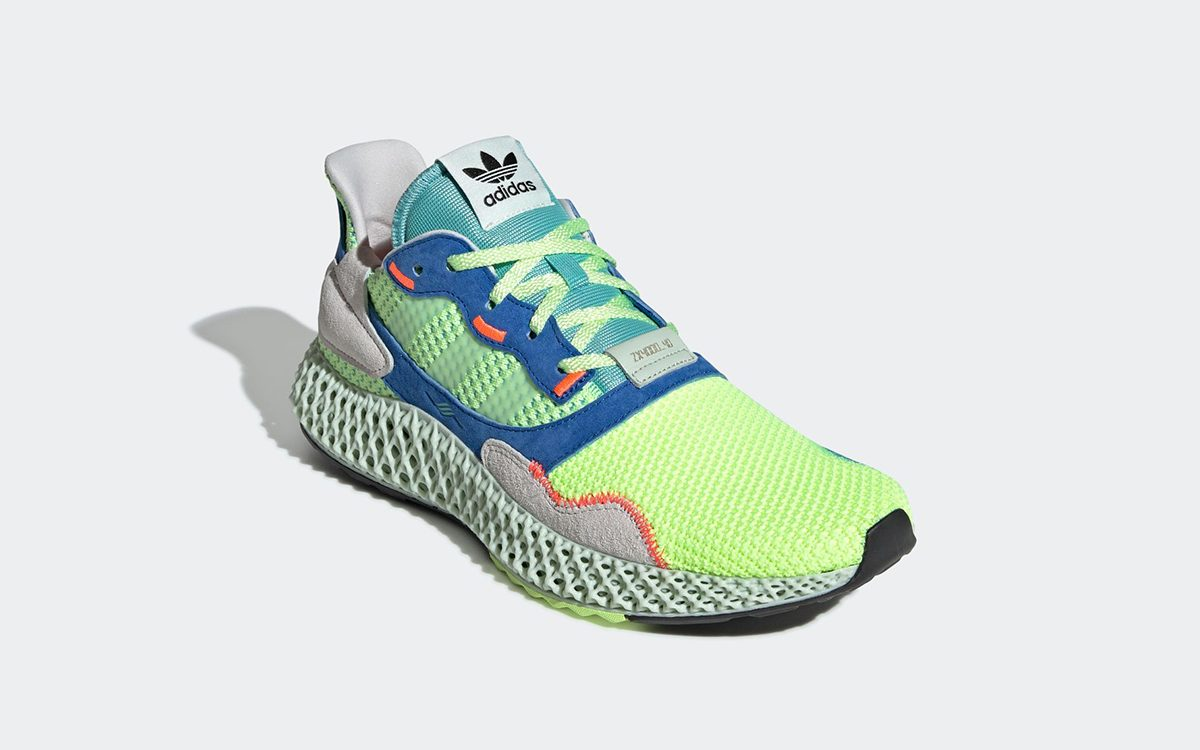 "adidas ZX 4000 4D Returns in ""Easy Mint"""