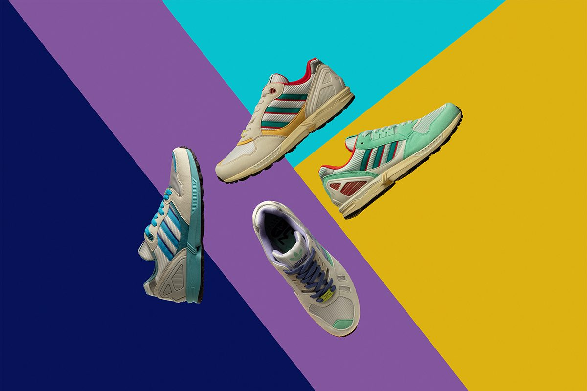 adidas Celebrates 30 Years of Torsion Tech with Special ZX Four-Pack