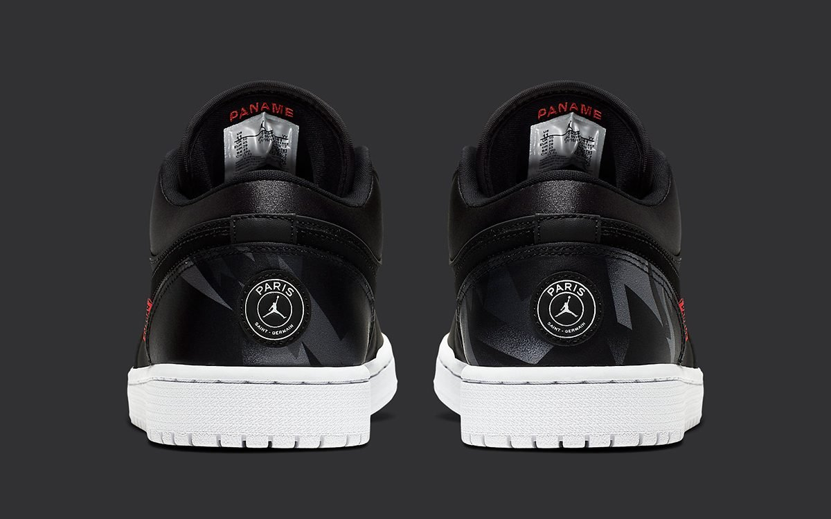 The PSG Air Jordan 1 Low Releases August 20th