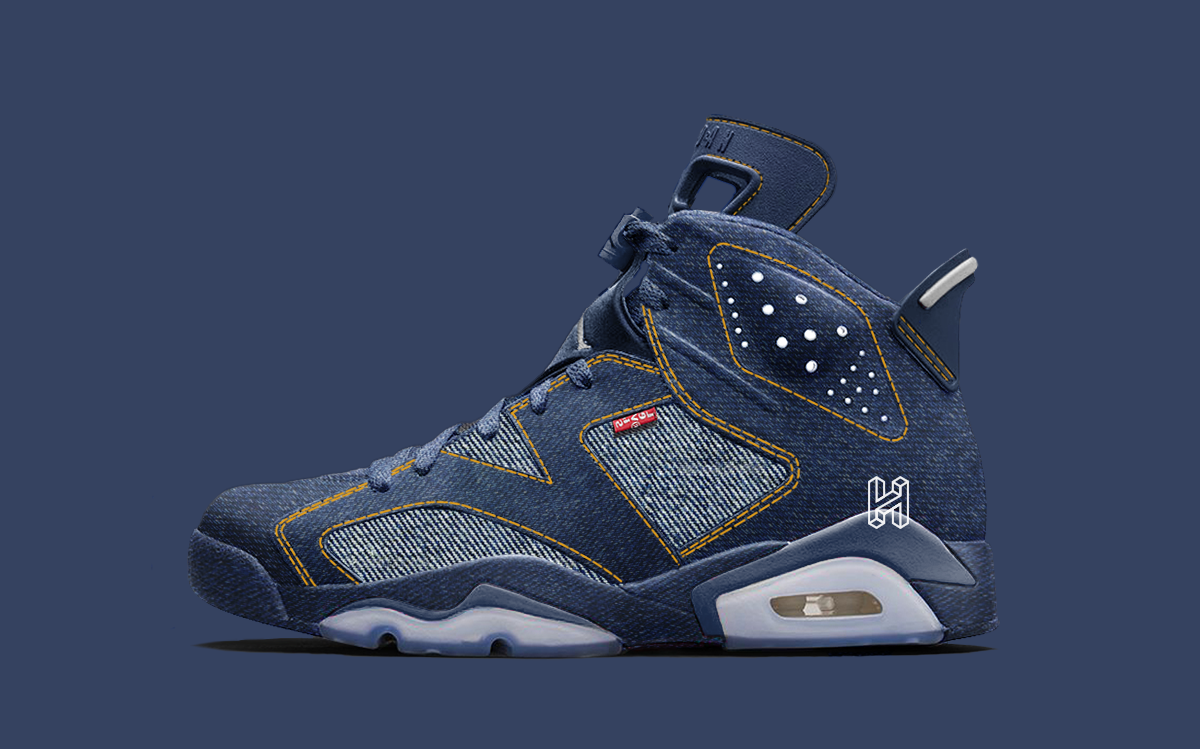 Levi's x Air Jordan 6 in the Works for 2020