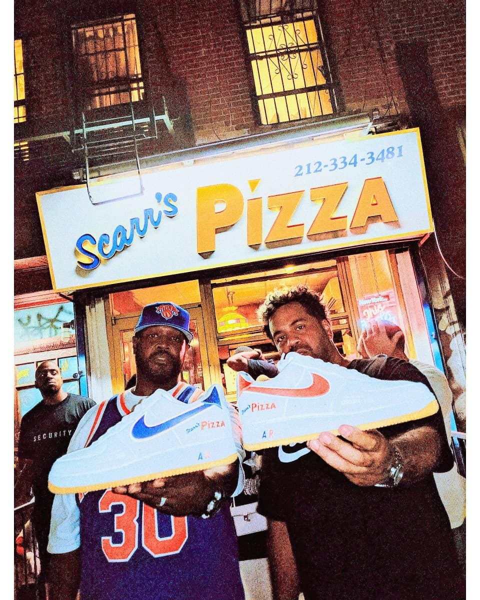 This NYC Pizza Shop Made its Own Air Force 1s
