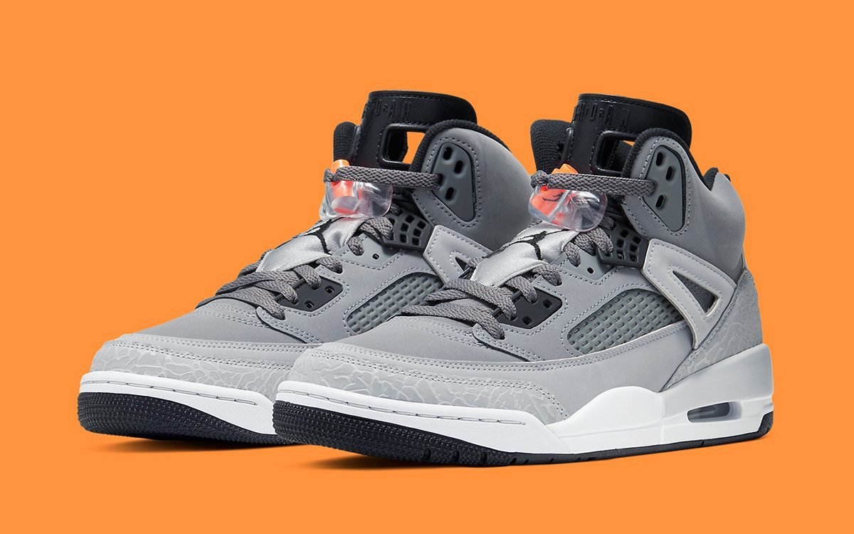 Available Now // The Jordan Spizike Plays it Cool in Grey