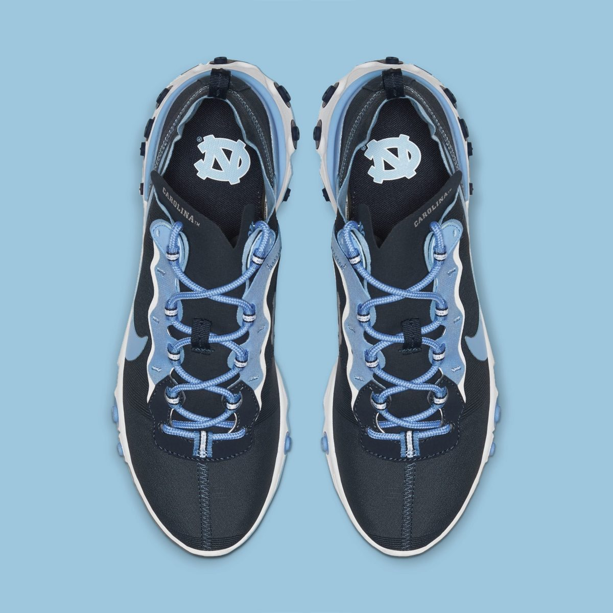 Espere Fabricante Abrazadera  UNC Join Nike's Rapidly Growing NCAA React Element 55 Collection -  Evesham-nj | Sneaker News, Release Dates and Features