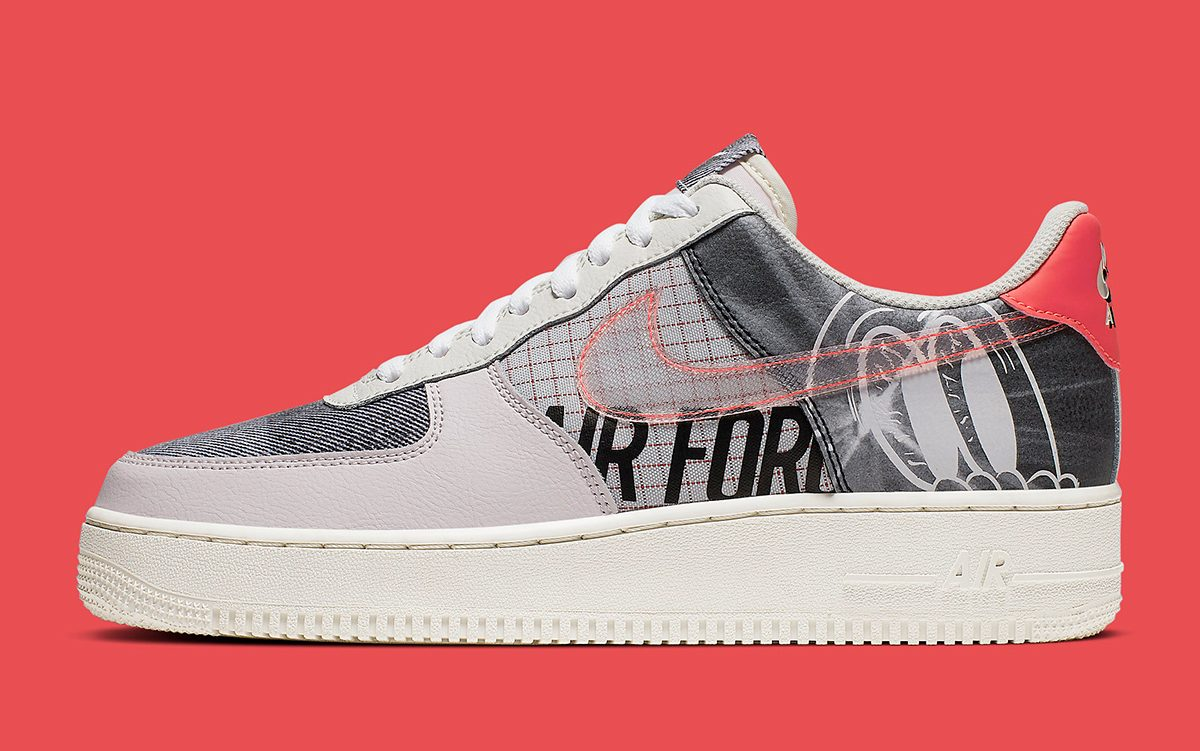 "Available Now // A Second Nike Air Force 1 Low PRM ""Graffiti"" Surfaces!"