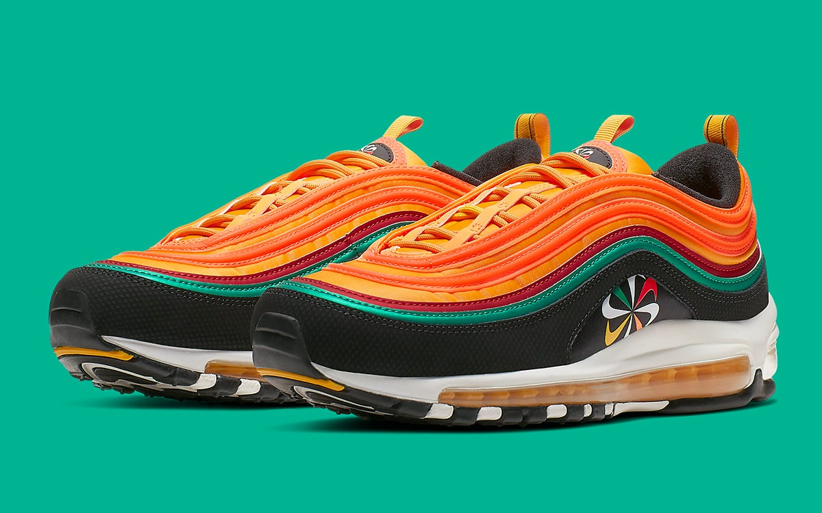 Nike air max 97 off white Hombres Mujeres que se DHgate