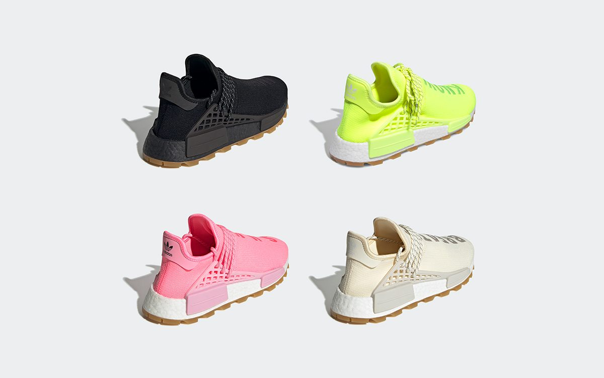 The Four-Pack of Gum-Soled adidas NMD Hu Release on September 14th