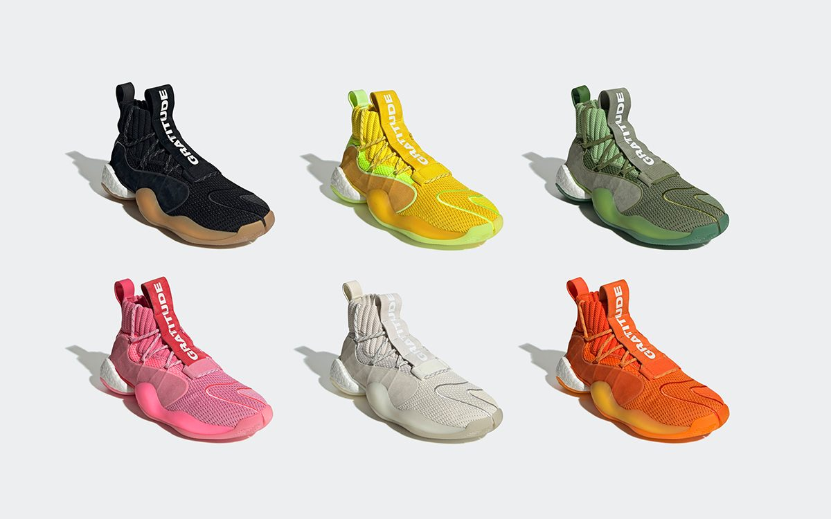Pharrell Williams x adidas Originals Crazy BYW X Lands in Six New Color Options Next Month