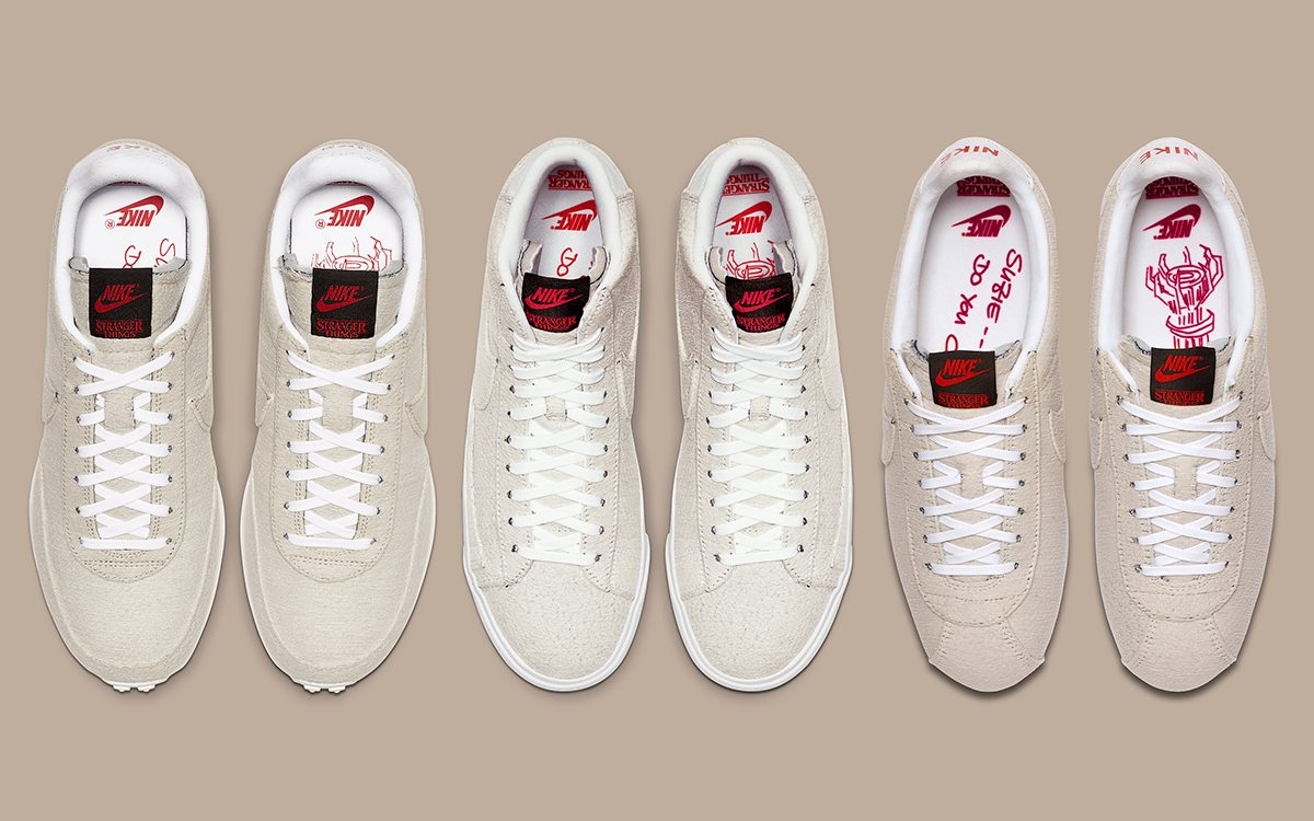 "Where to Buy the Stranger Things x Nike ""Starcourt Mall/Upside Down"" Pack"