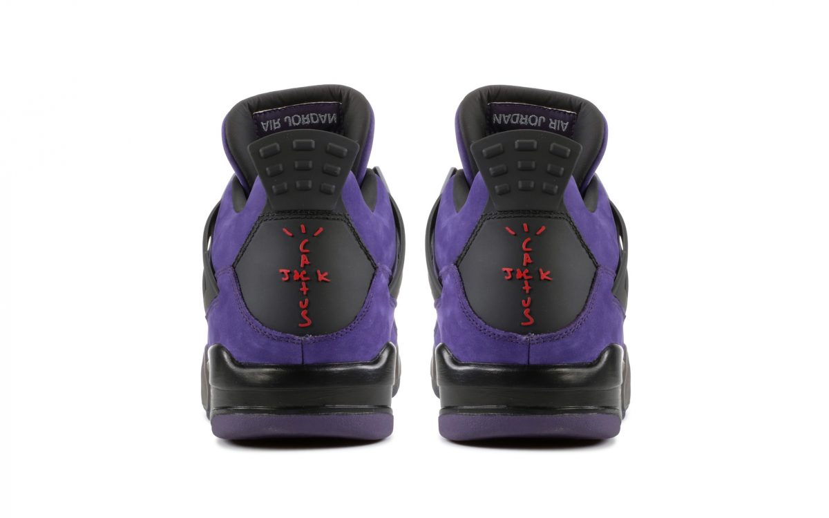 Purple Travis Scott x Air Jordan 4 Family and Friends Lands on Flight Club with Ludicrous Price Tag