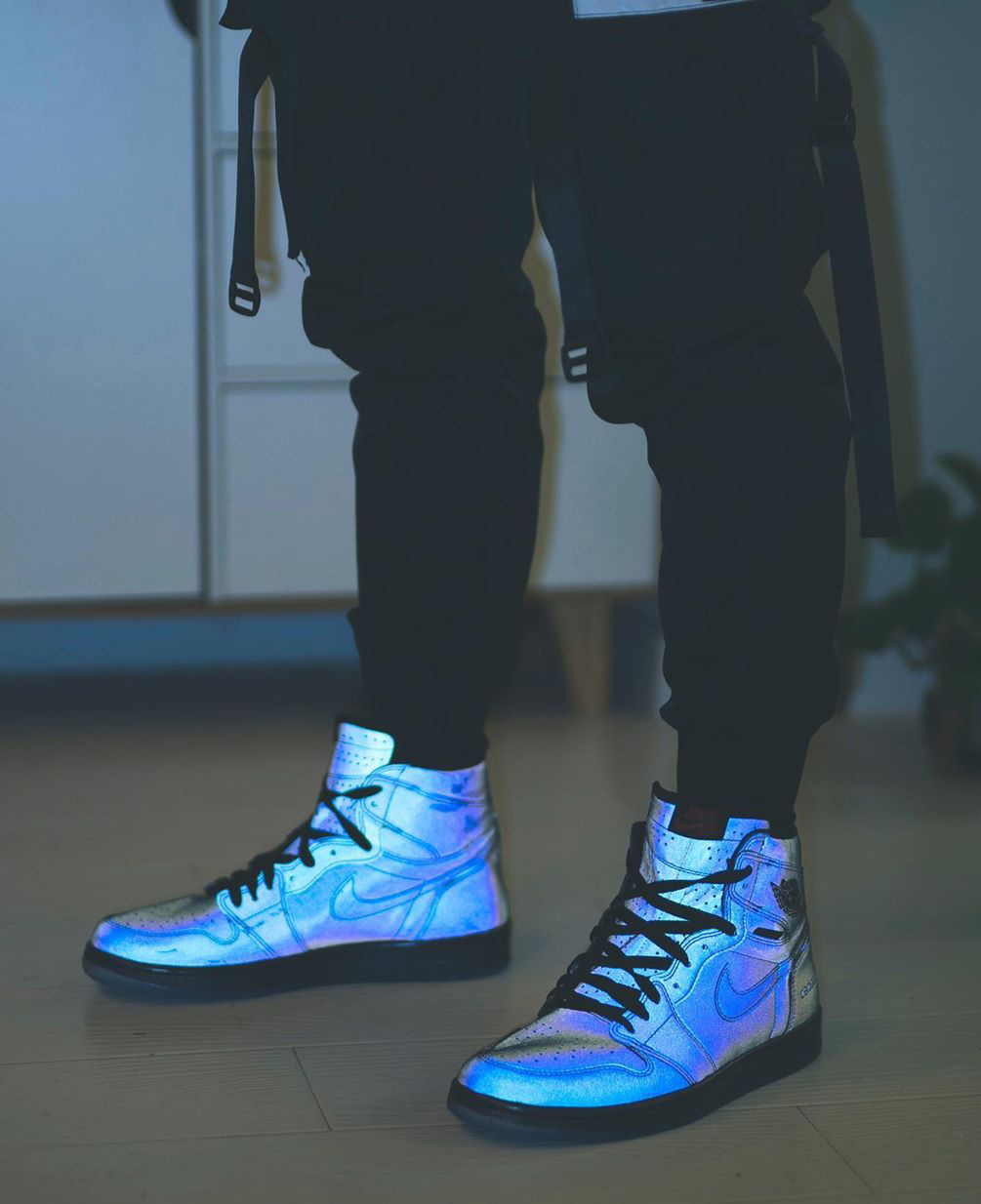 On-Foot Looks at the 3M Reflective Zoom Air Jordan 1 High
