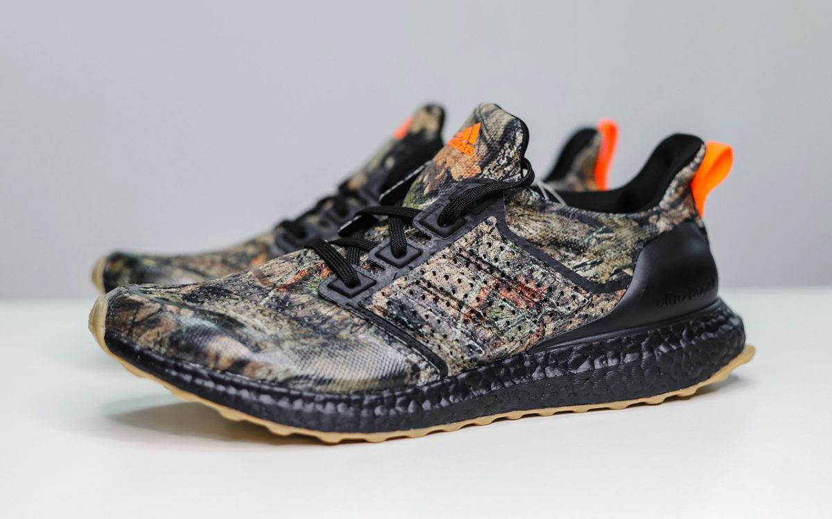 "Detailed Looks at Action Bronson's adidas Ultra BOOST ""Realtree"" PE"