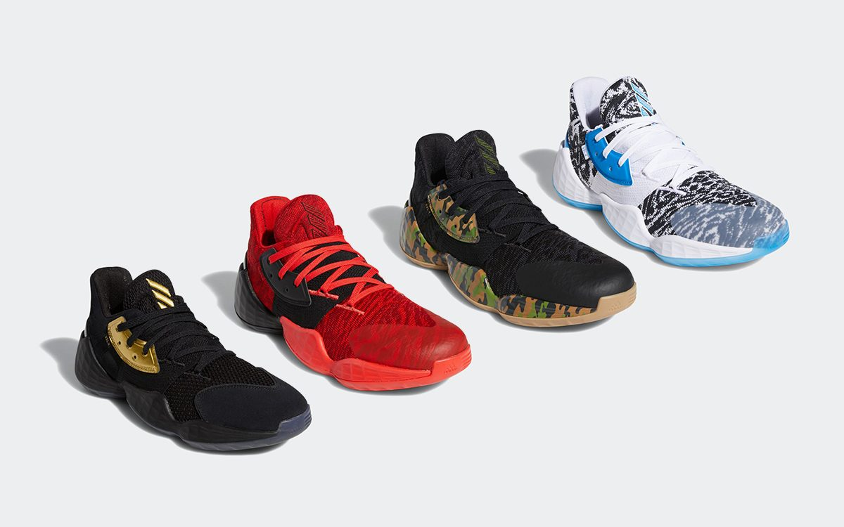 Official Looks at James Harden's Next Four Signature Releases