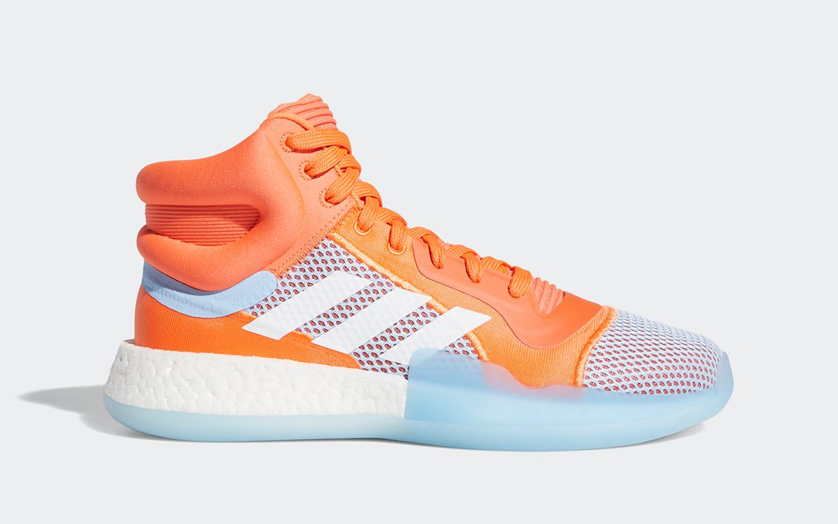 "Available Now // adidas Marquee BOOST ""Hi-Res Coral"""