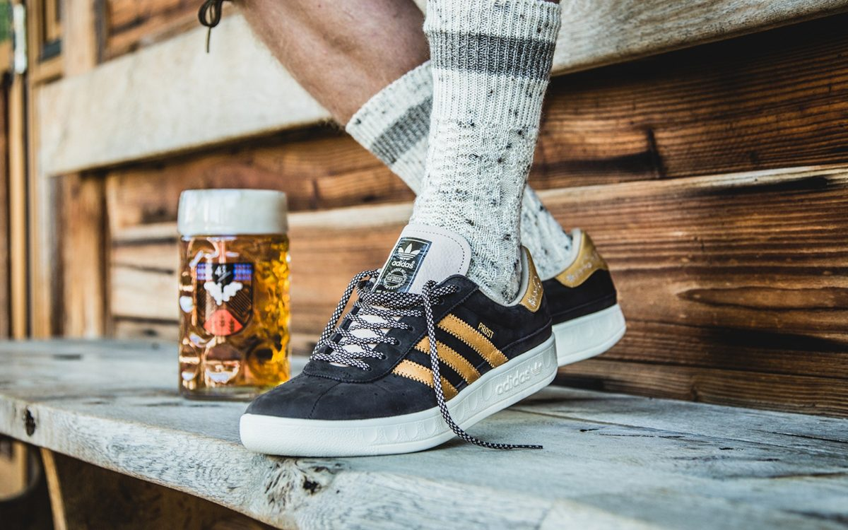 adidas Celebrate Oktoberfest with Two-Pack of Beer-Repellent München Sneakers