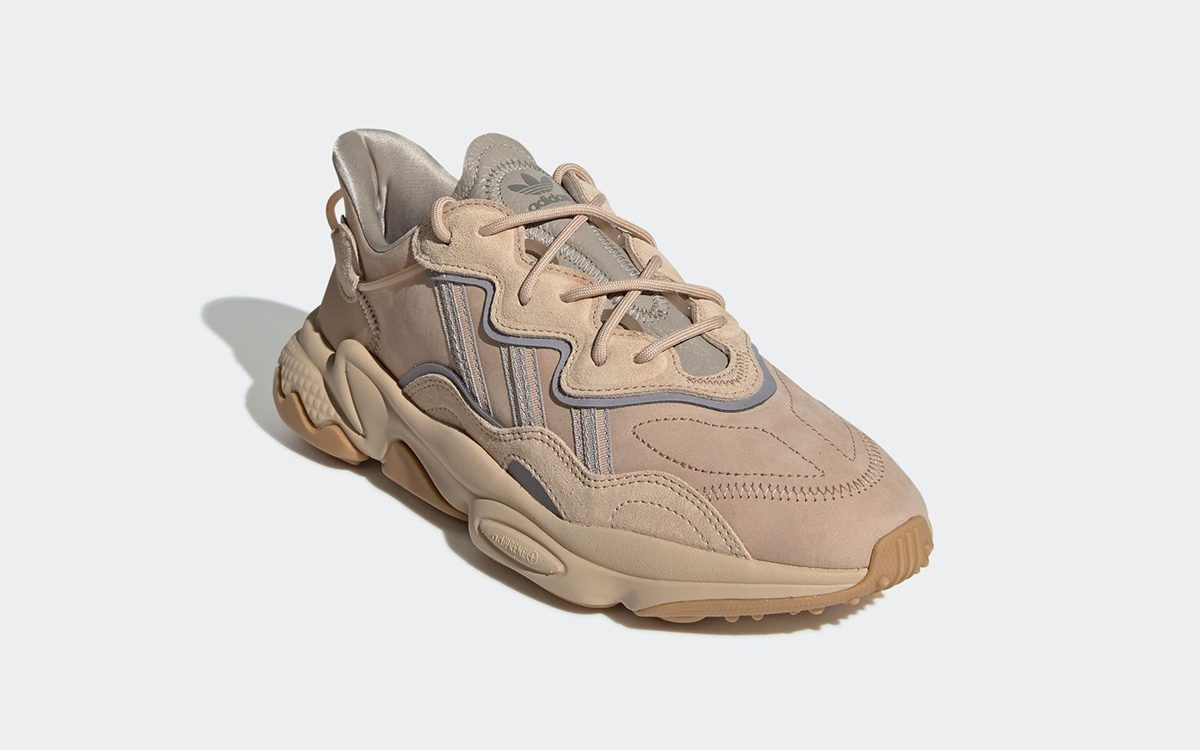 Available Now // The adidas Ozweego Goes Au Naturel in