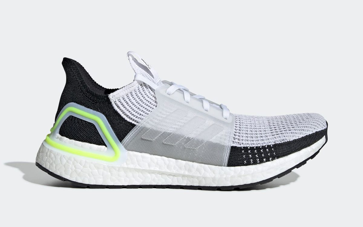 The adidas Ultra BOOST 2019 Surfaces in a Clean and Mean Neon Green
