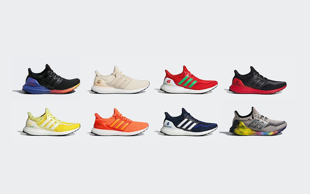 "adidas Just Dropped Epic Eight-Piece Ultra BOOST ""China City Focus"" Pack"