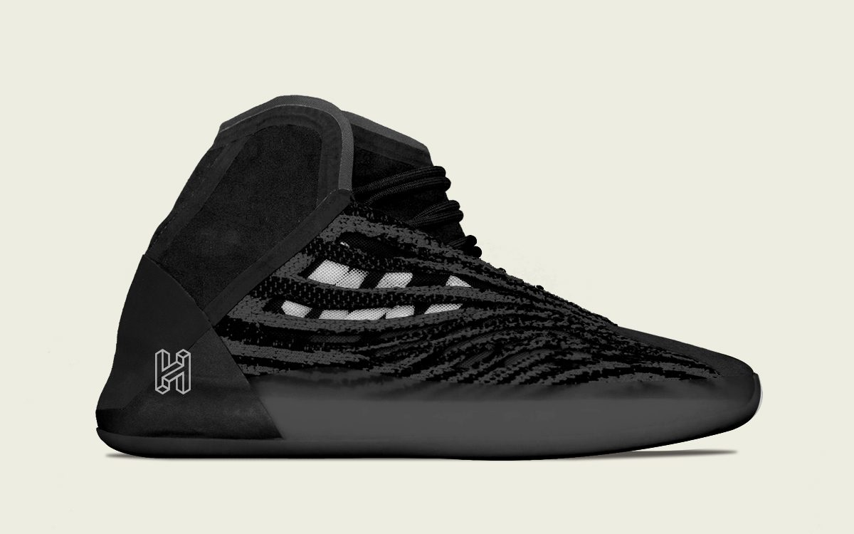 There's a Black adidas YEEZY Basketball Sneaker on the Way