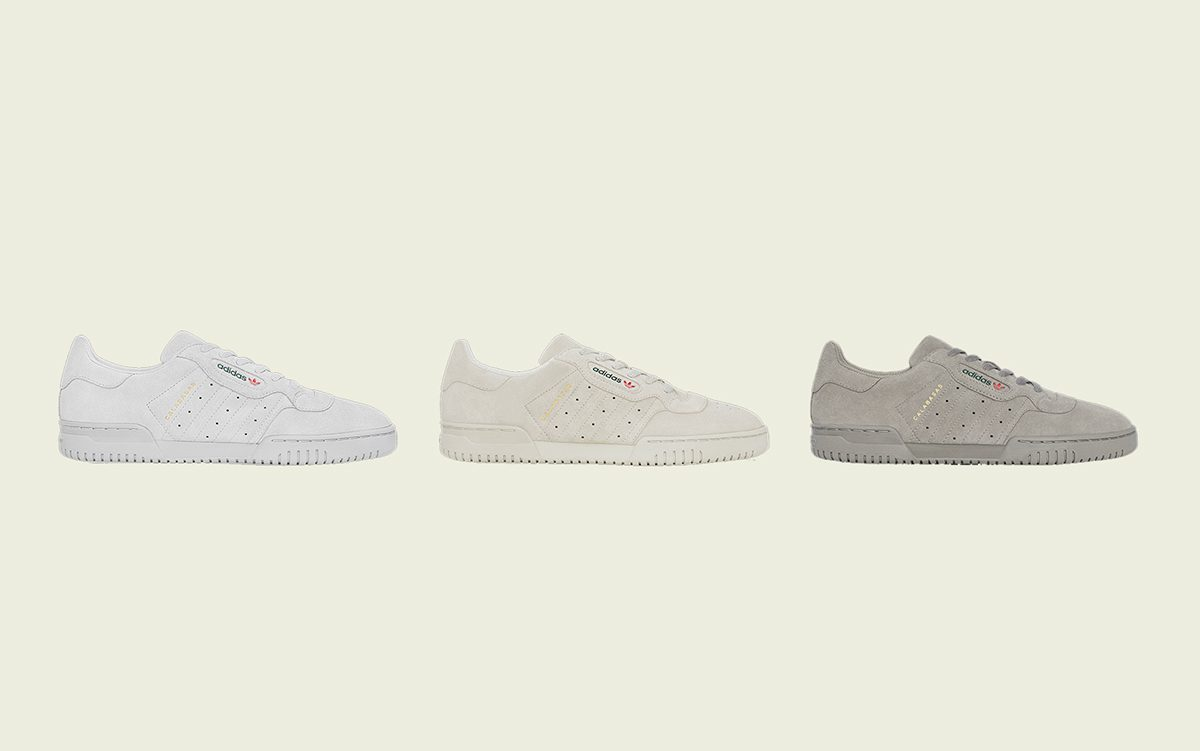 adidas YEEZY Powerphase Releases in Three New Colorways on September 18th
