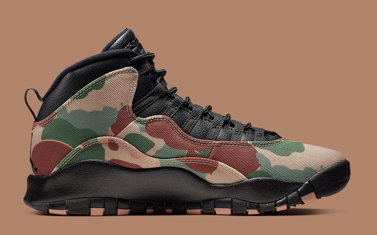 the best attitude 57185 01c58 Official Looks at the Air Jordan 10