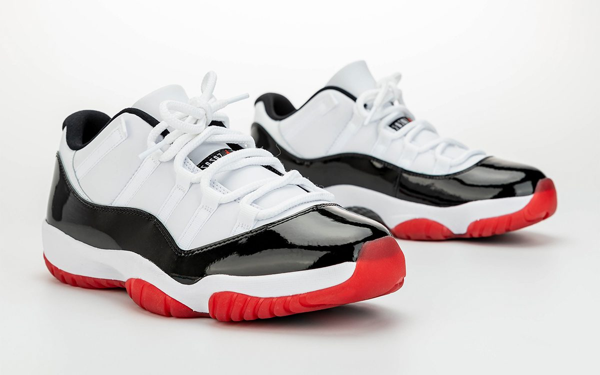 """Detailed Looks at the Air Jordan 11 Low """"White Bred"""""""