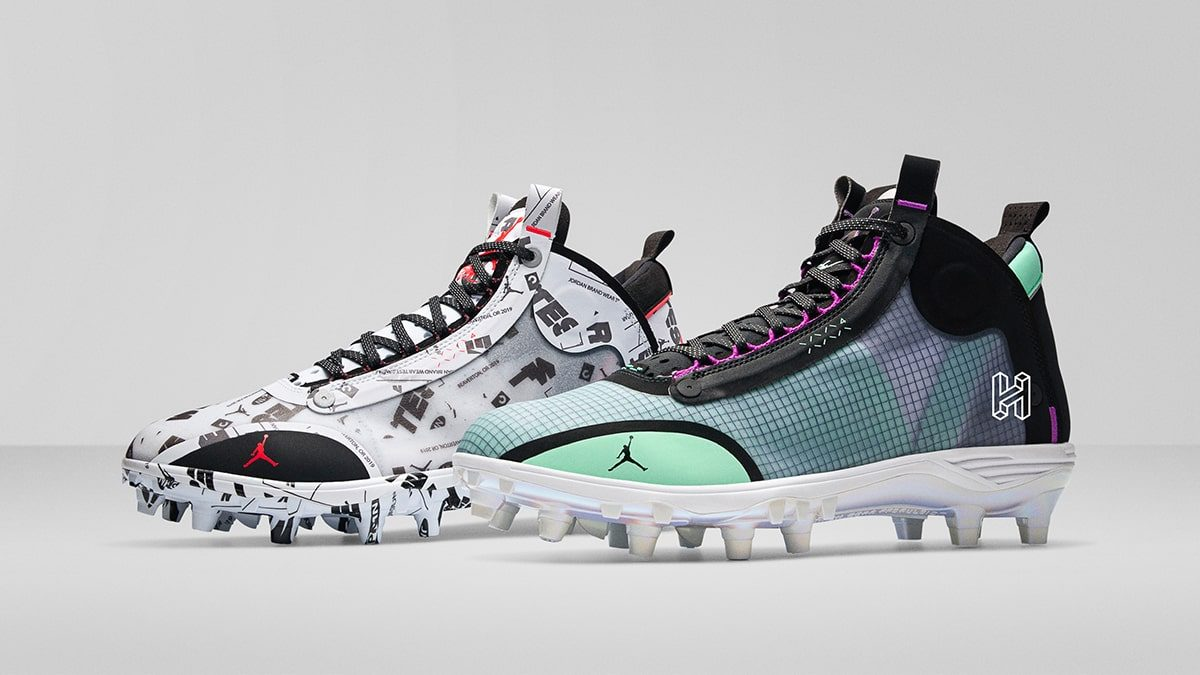 Exclusive Looks // Air Jordan 34 Baseball and Football Cleats Revealed!