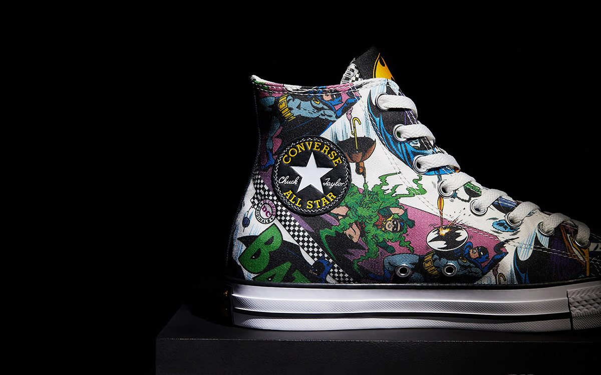 Converse Celebrate Batman's 80th Birthday With Epic Six-Piece Chuck Pack