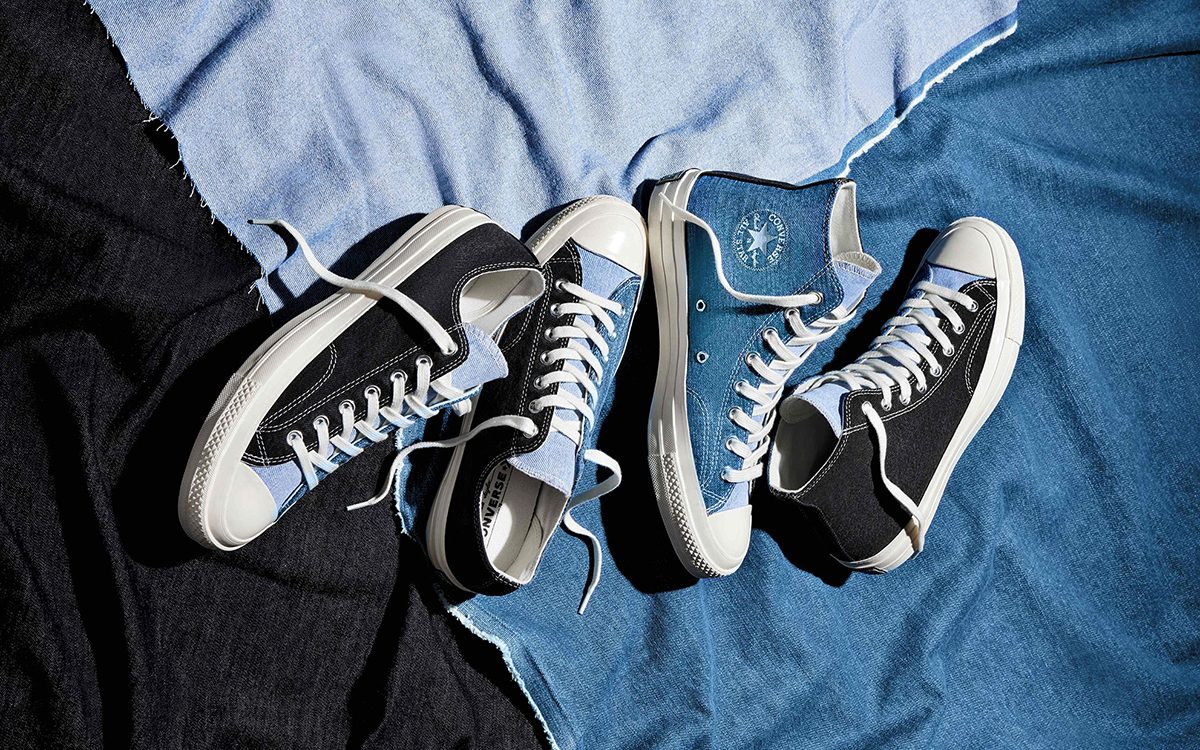"Converse Chuck 70 Renew Denim ""Split Pack"" on the Way!"