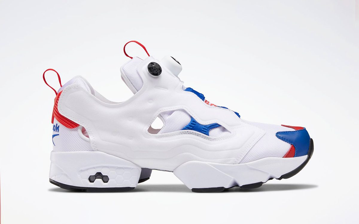 The Reebok Instapump Fury OG Pops Up in Patriotic White, Red and Blue