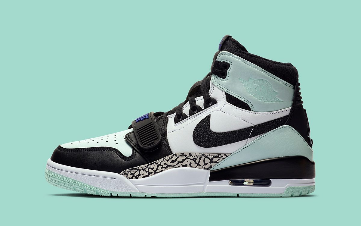 "Jordan Legacy 312 ""Igloo"" Mimics 2017's Art Basel Air Jordan 1"