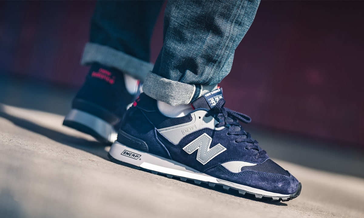 Available Now // New Balance 577 in Classic Navy and Grey   HOUSE ...