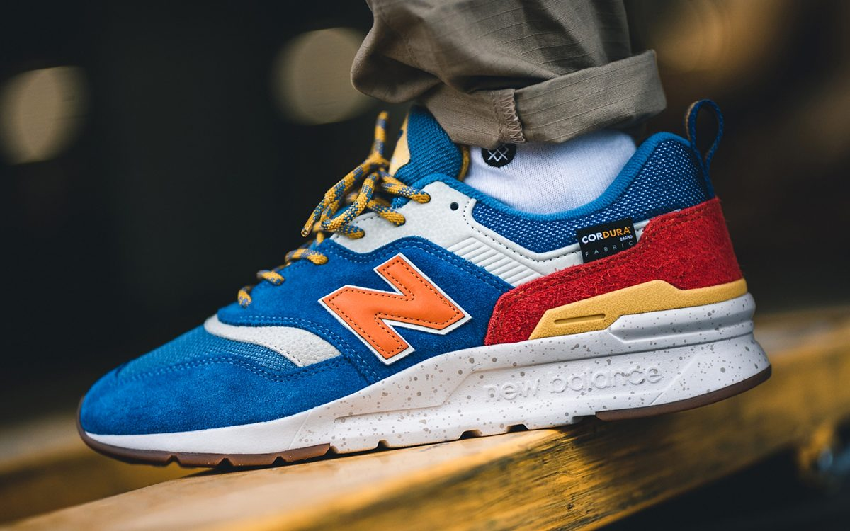 Available Now // CORDURA New Balance 997H in Bold Blue and Gold