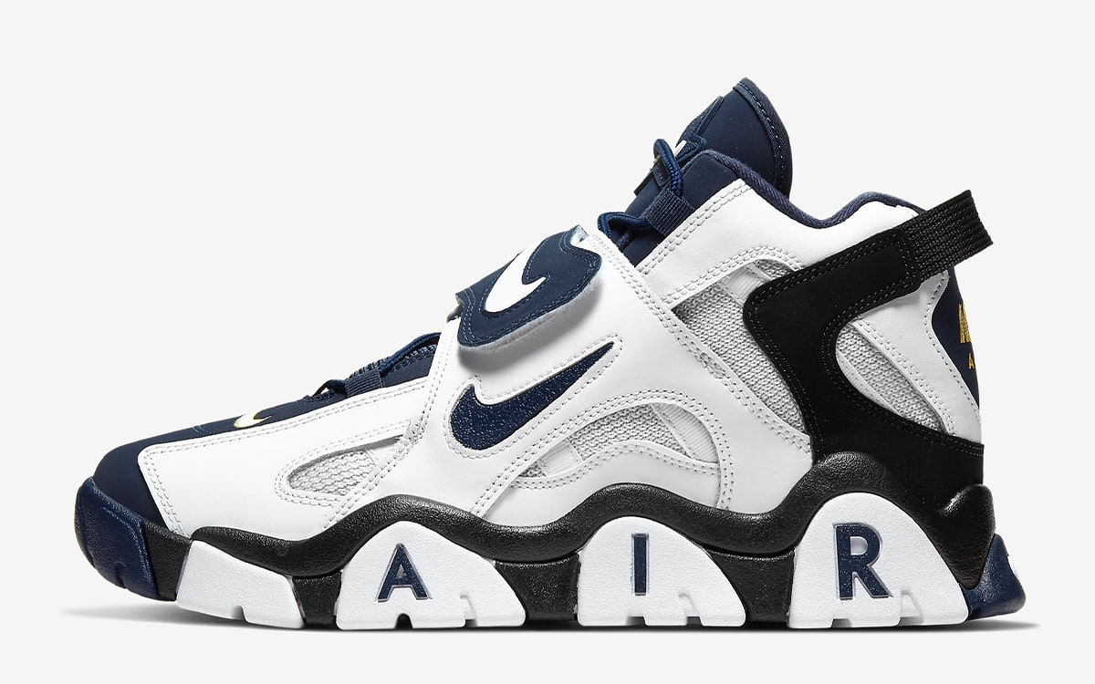 """etc. Diplomacia Cuna  Available Now // OG Nike Air Barrage Mid """"Navy"""" - HOUSE OF HEAT 