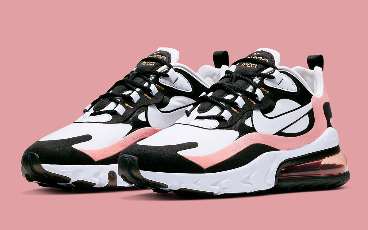 The Nike Air Max 270 React Pops in Pink