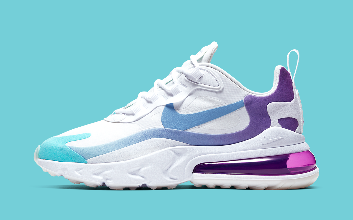 Available Now The Air Max 270 React Goes Gradient HOUSE