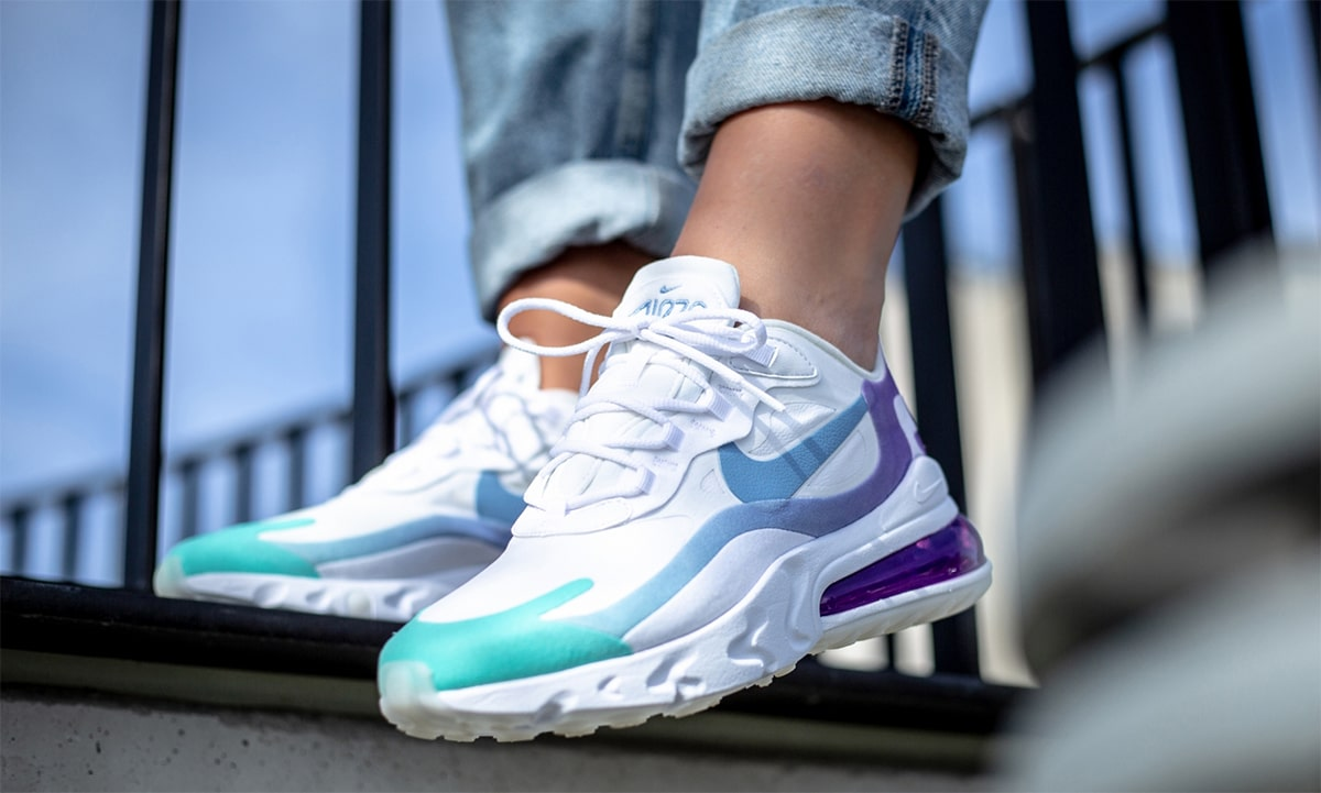 Available Now The Air Max 270 React Goes Gradient House Of